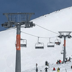 Ski Chair Lift Costco Mesh Office Look Resort Chairlift Goes Completely Haywire Sends Skiers And Chairs Flying Cbssports Com
