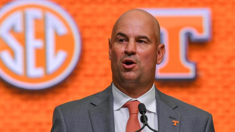SEC Media Days 2018 Tennessee coach Jeremy Pruitt responds to Aaron Murrays criticism