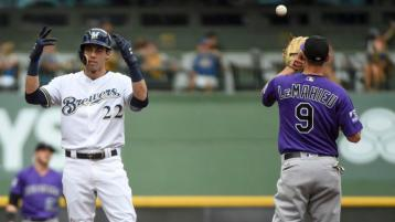 Image result for nlds rockies brewers