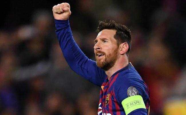 Barcelona Vs Lyon Score Messi Scores Two Goals As Barca