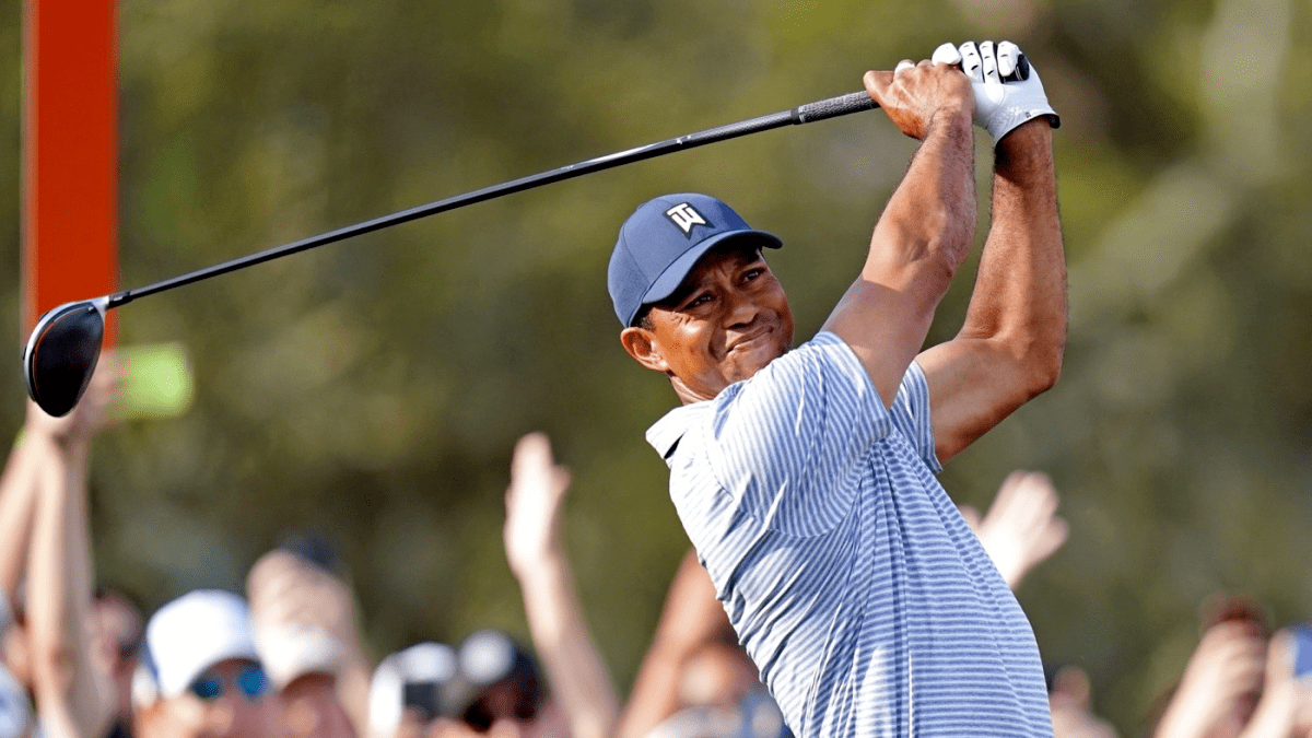 tiger woods start time today at the players