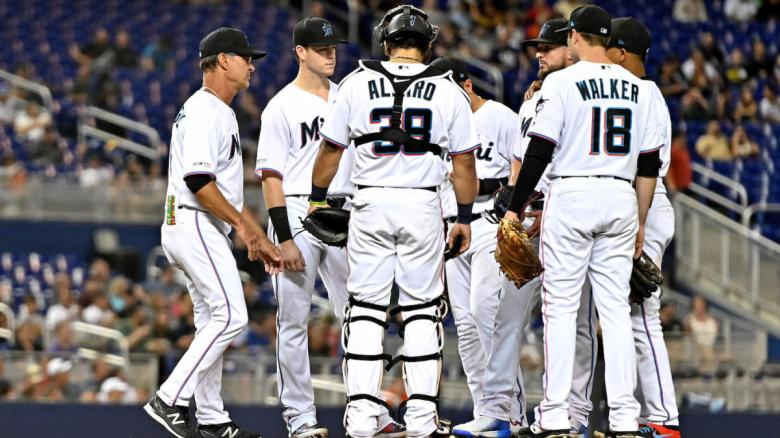 The Marlins are on pace to set a mark for MLB futility, the most ...