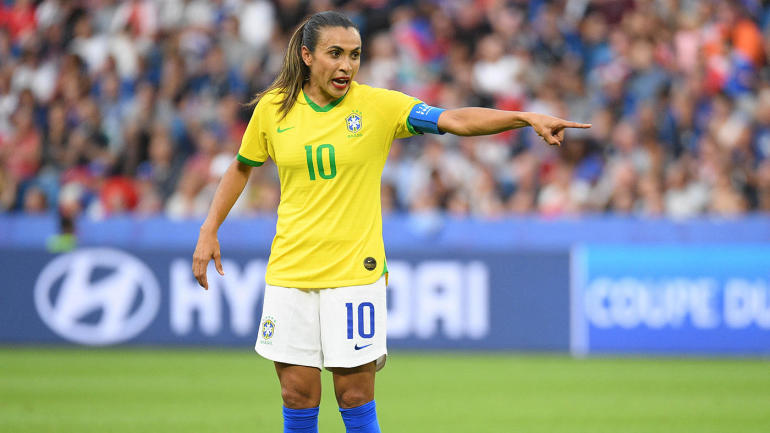 Soccer: Womens World Cup-France at Brazil