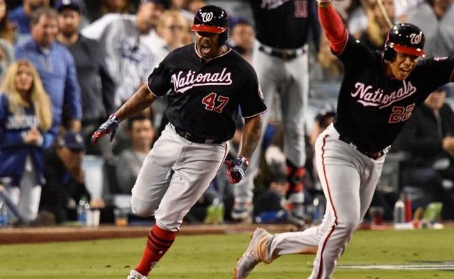 Nationals Vs Dodgers Score Howie Kendrick Grand Slam
