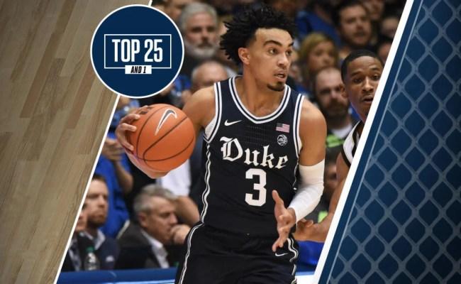 College Basketball Rankings Six Teams Ranked In Top 25