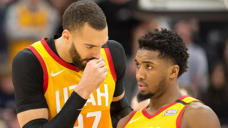 Donovan Mitchell and Rudy Gobert's relationship on thin ice due to  coronavirus situation, report says - CBSSports.com