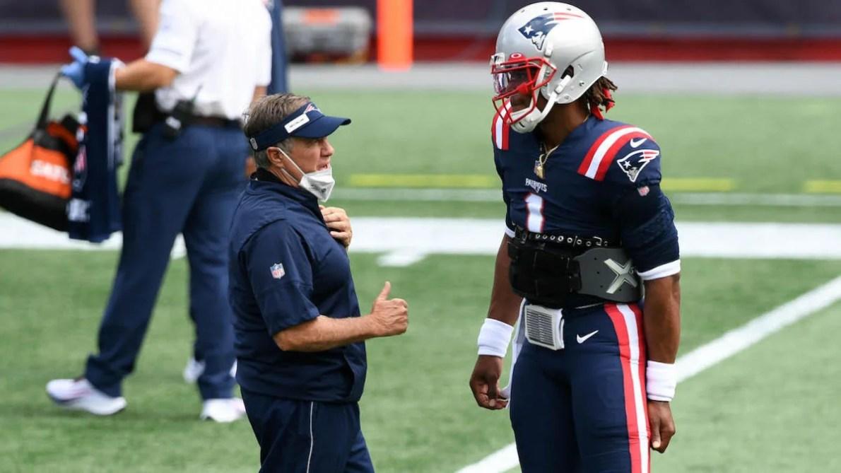 Cam Newton reveals his nickname for Patriots coach Bill Belichick,  appreciates teammates rolling with it - CBSSports.com