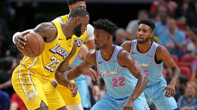 ผลการค้นหารูปภาพสำหรับ Heat  Lakers