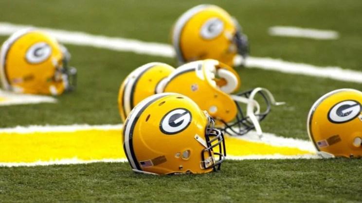 Green Bay Packers Helmet Helmets