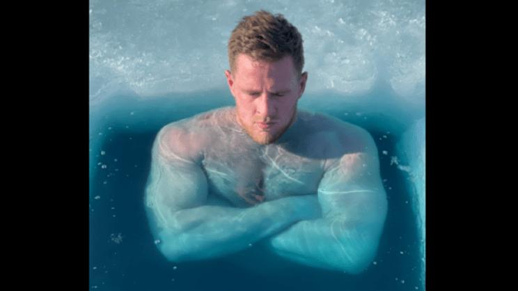 JJ Watt Twitter Screenshot Ice Bath