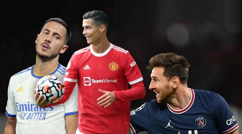 Classement : voici les footballeurs les mieux payés en 2021