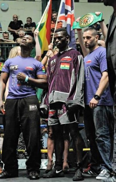 Commey wants to sing more of the Ghana national anthem in famous US rings