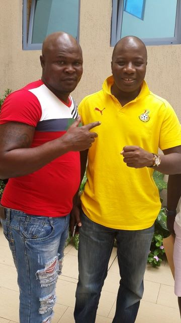 Bukom Banku and  Sports Minister, Ayariga when they met recently