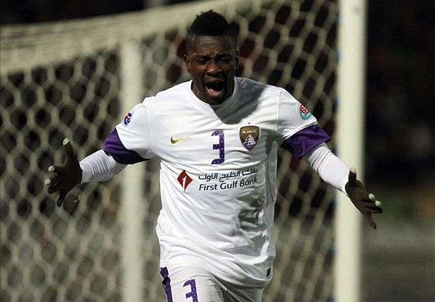 Gyan has been in great scoring form for club and country this year