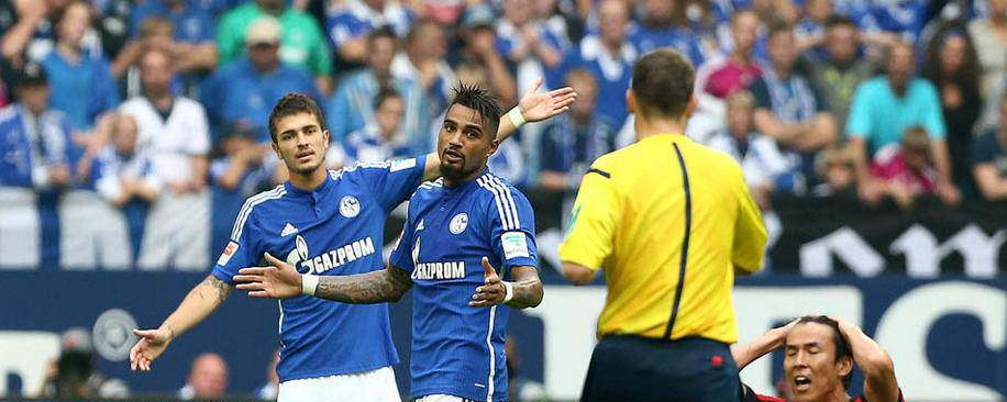 KP Boateng red