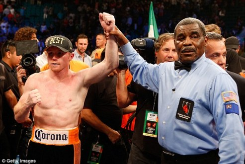 Canelo has pulled out of fight with Clottey citing an ankle injury