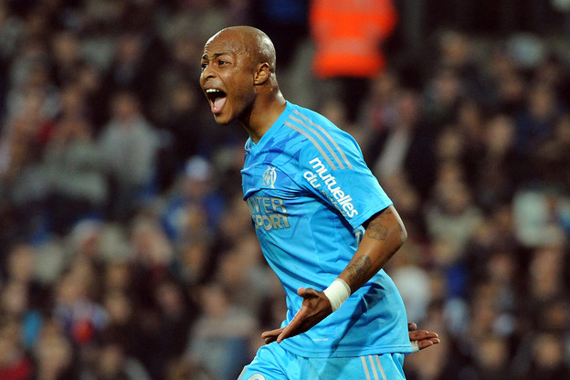 Dede celebrate with MArseille