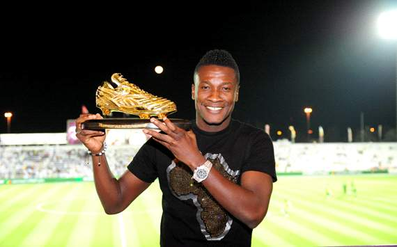 Gyan has made the 5-man shortlist for Glo-CAF player of the year award
