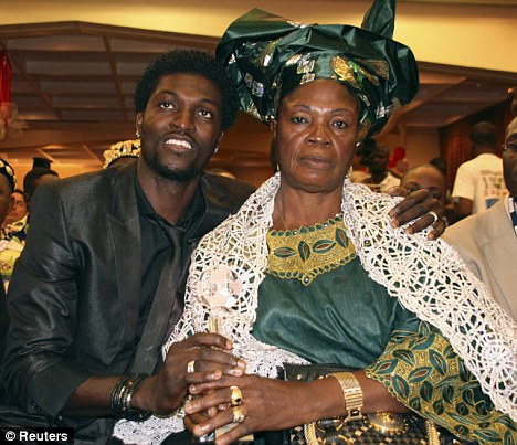 Sheyi Adebayor has accused his mother of using witchcraft to destroy his career