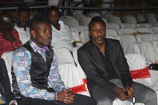 Asamoah and Baffour Gyan