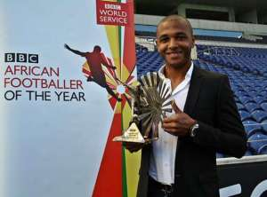 Algeria's Yacine Brahimi has just been named the BBC Africa Footballer of the year
