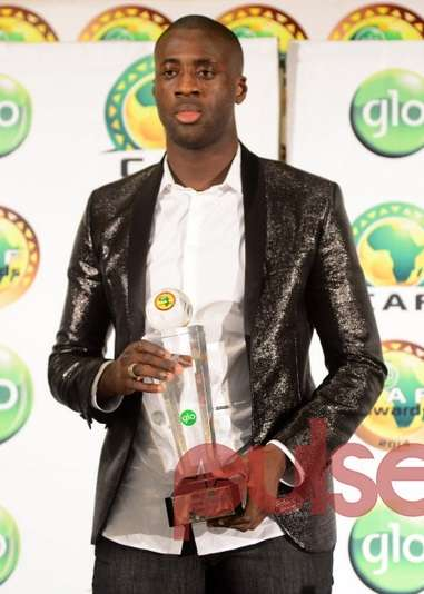 Yaya Toure wins 4th straight Africa best player award