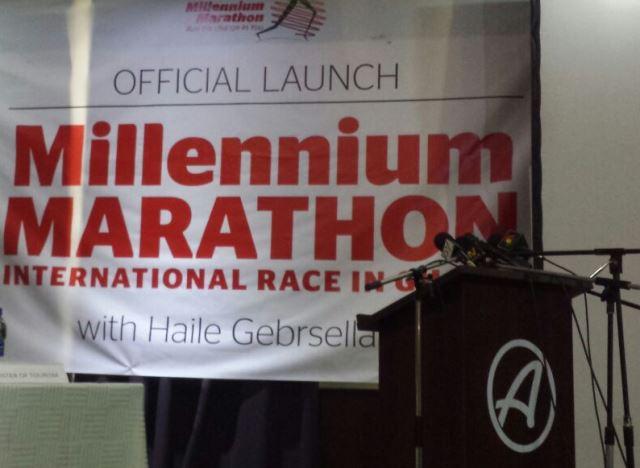 Millenium Marathon launch