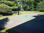 A Home Basketball Court Without Court Lines Is Like Boston Without The Celtics