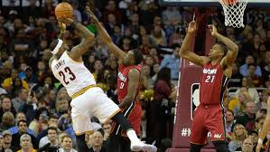 Cavaliers vs Heat: Match Sessions 2015-2018  Stats  Match Result