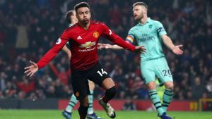 EPL: Manchester United paused Arsenal on draw on Linde's goal