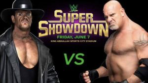 The Undertaker vs Goldberg 2019 Match Result live