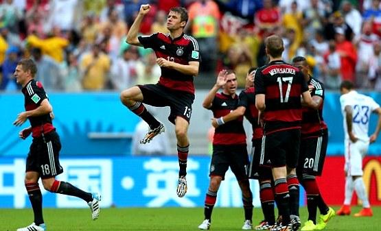 Germany 1-0 USA