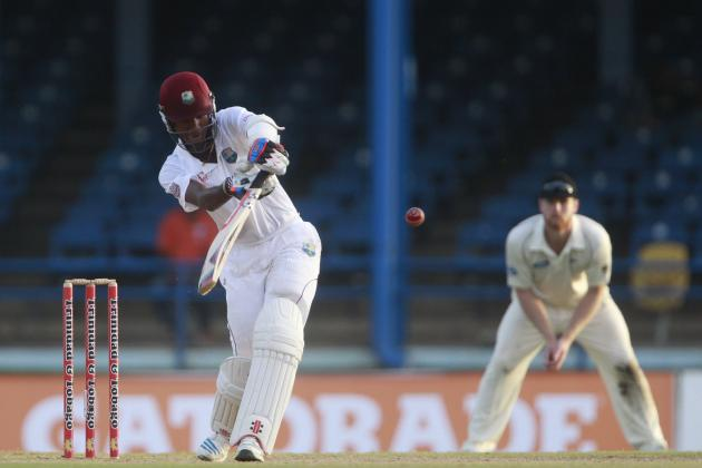 west indies v/s new zealand 2nd test match day 2
