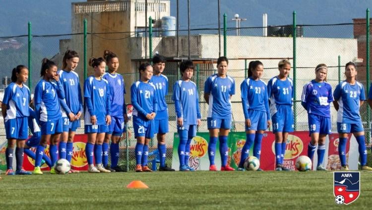 Nepal Women's Football Team Image © ANFA