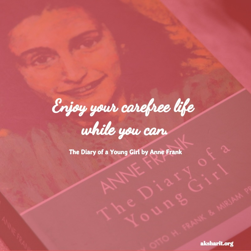 The Diary of a Young Girl by Anne Frank quotes 1