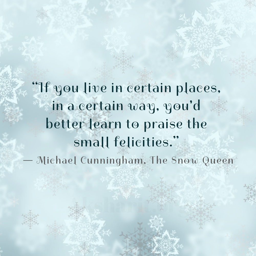 3 Michael Cunningham The Snow Queen