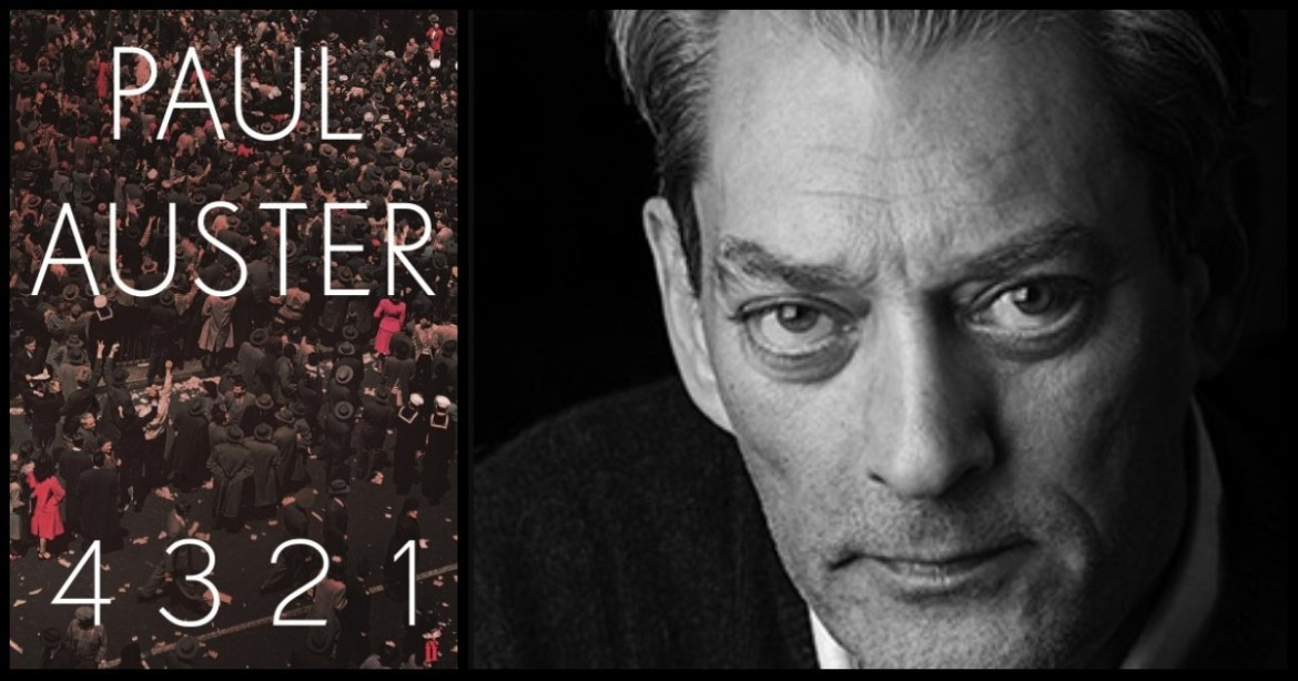 4321 by Paul Auster (Faber Faber)