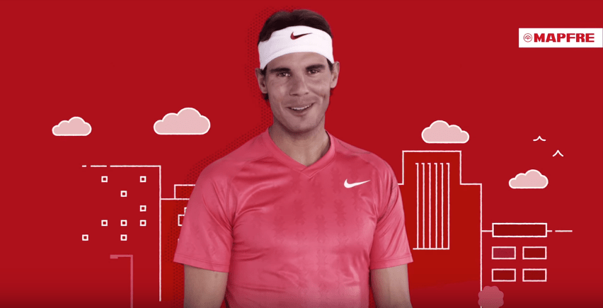 Mapfre Rafael Nadal Brand Endoresements sponsorship