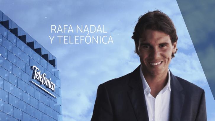Telefonica Rafael Nadal Brand Endorsements sponsorship ambassador list