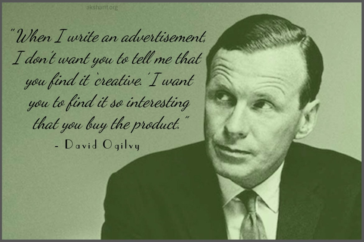 10 David Ogilvy Quotes on Advertising Best Lines Famous Popular Quotes from David Ogilvy