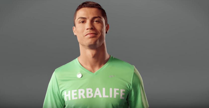 Cristiano Ronaldo CR7 Brand endorsements ads tvc sponsors partnerships ambassador  Herbalife