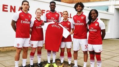 Arsenal FC Football Club Sponsors Partners Sponsorships Partnerships Brand Endorsements Vitality