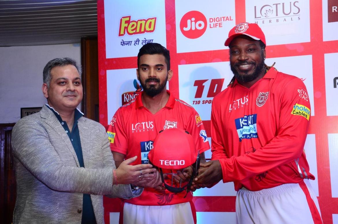 Kings XI Punjab Official Sponsors List Partners Brand Ambassador Logos On Jerseys Tecno