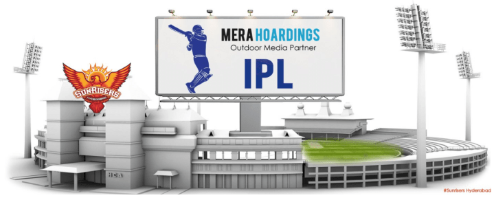 Sunrisers Hyderabad SRH Sponsors Logos Jerseys Brand Endorsements Partners Sponsorship Mera Hoardings