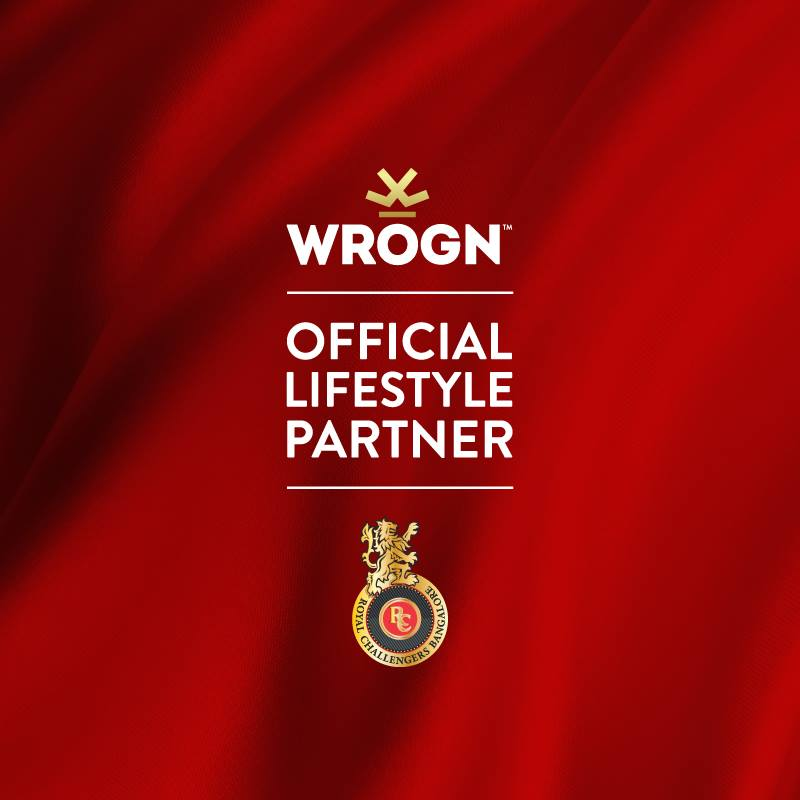 Royal Challengers Bangalore RCB Sponsor List Partners Logo Jersey Brand Endorsements Wrogn
