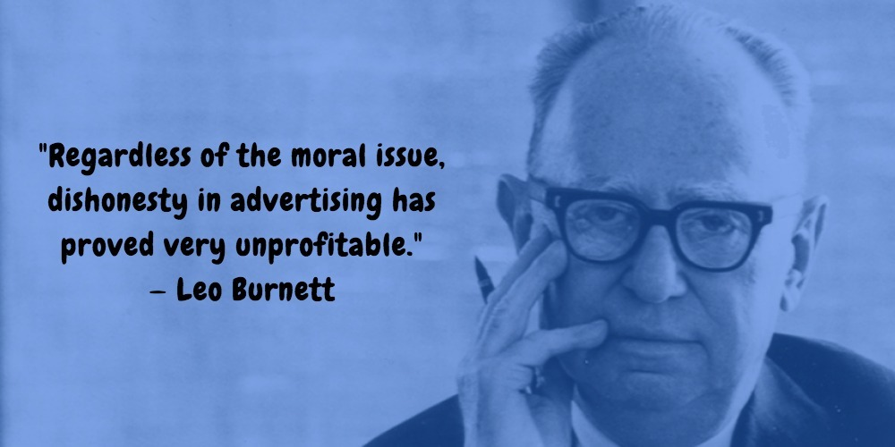 15  Leo Burnett Quotes Advertising Legend Guru Lines