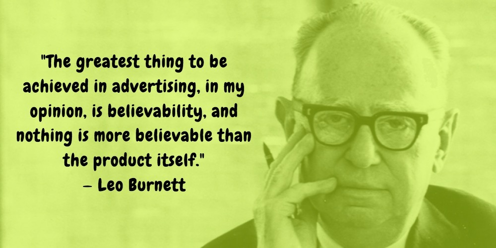 17  Leo Burnett Quotes Advertising Legend Guru Lines