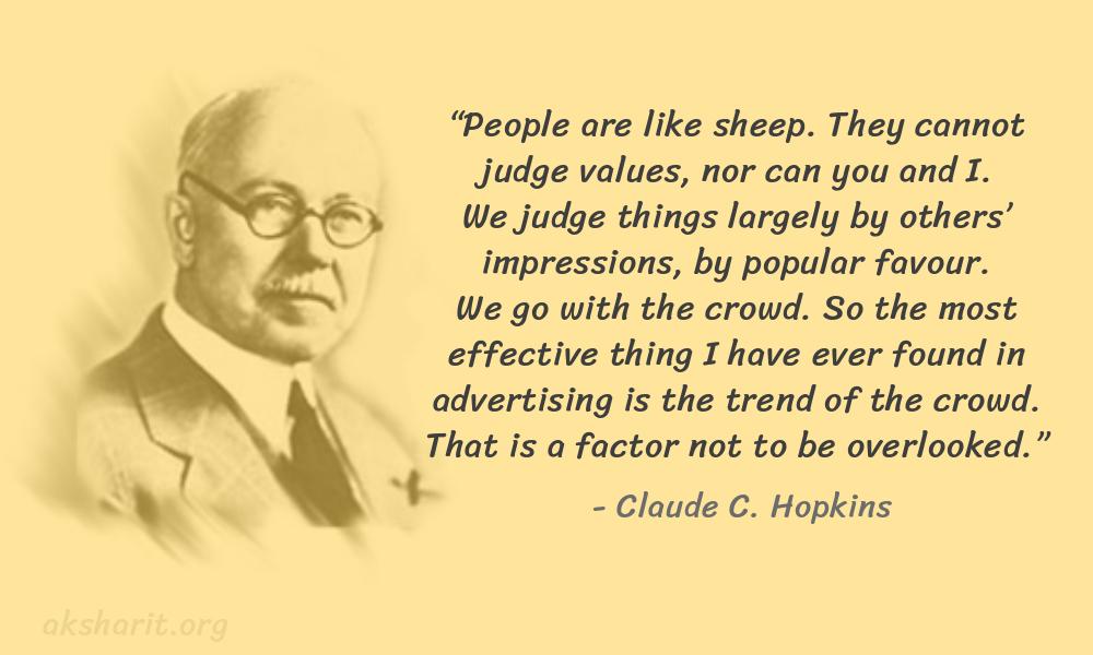2 Claude C. Hopkins Quotes Advertising Legend Guru