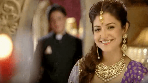 Anushka Sharma Brand Endorsements Brand Ambassador Promotions TVC Advertisements List Gitanjali Jewels
