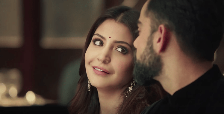Anushka Sharma Brand Endorsements Brand Ambassador Promotions TVC Advertisements List Manyavar Mohey
